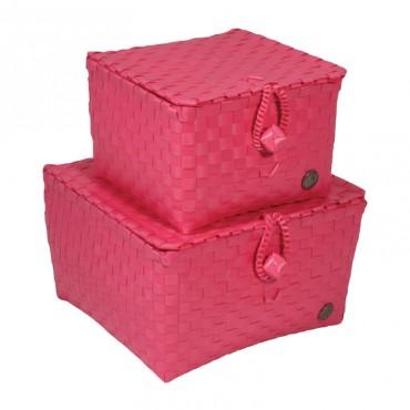 Handed by Korb Pisa - Pink