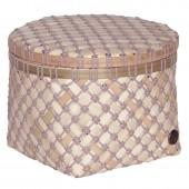 Handed by Korb Bamboo Mini, rund, mittel - Mauve