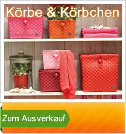 Handed by Körbe Ausverkauf